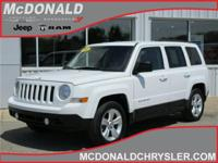 Options:  2012 Jeep Patriot Latitude Front-Wheel