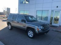 The 2012 Jeep Patriot is a great car for the family!