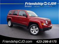 CARFAX One-Owner. Red 2012 Jeep Patriot Sport 4WD