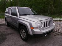 Come see this 2012 Jeep Patriot Sport. Its Manual