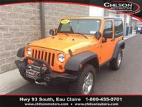 2012 Jeep Wrangler Rubicon Crush Clearcoat Local Trade,