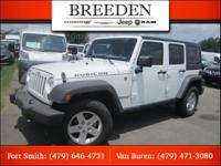 Bright White Clearcoat 2012 Jeep Wrangler Unlimited