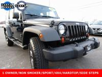 Recent Arrival! 2012 Jeep Wrangler Unlimited Sport
