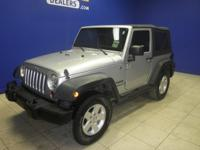 Accident Free Carfax Report. Wrangler Sport, 2D Sport