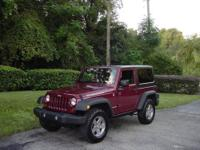 THIS GORGEOUS 2012 JEEP WRANGLER RUBICON 4X4 IS A ONE