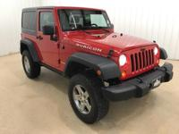 Just Reduced! Bluetooth.Red 2012 Jeep Wrangler Rubicon