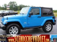 Come see this 2012 Jeep Wrangler Sahara. Its Automatic