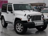 Recent Arrival! 2012 Jeep Wrangler Sahara Bright White