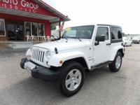 Options:  2012 Jeep Wrangler Hard Top! Navigation!