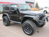 Black Clearcoat 2012 Jeep Wrangler Sahara 4WD 5-Speed