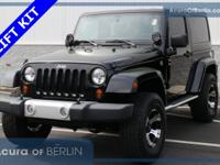 2012 Jeep Wrangler Sahara Black Clearcoat New Price!