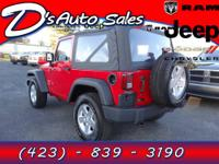 Introducing this 2012 Jeep Wrangler with 15,842 miles.