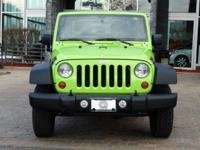Options:  2012 Jeep Wrangler Sport|Gecko