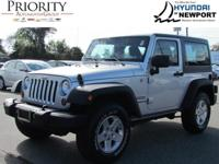 This 2012 Jeep Wrangler Sport allows you to save money