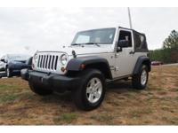 Options:  2012 Jeep Wrangler Sport|Silver|6Spd Manual!