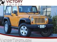 2012 Jeep Wrangler Sport in Orange starred featured