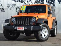 This 2012 Jeep Wrangler 2dr 4WD 2dr Sport features a