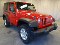 Come see this 2012 Jeep Wrangler. Its Automatic