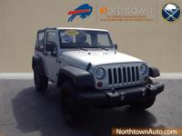 Take command of the road in the 2012 Jeep Wrangler! An