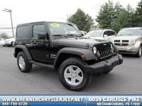 Look at this 2012 Jeep Wrangler Sport. Its transmission