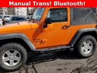 Clean CARFAX. Crush Clearcoat 2012 Jeep Wrangler Sport