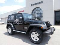 The Jeep Wrangler 4x4 offers the ultimate in capability