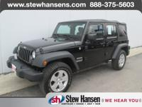 CLEAN CARFAX and CARFAX ONE OWNER. Wrangler Unlimited