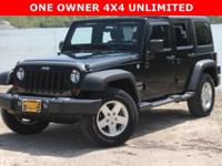 One Owner.., 4x4 Unlimited.., Hard and Soft Tops..,