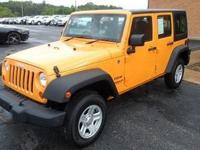 We are selling a very nice 2012 Jeep Wrangler Unlimited