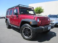 Jeep Wrangler Unlimited Sahara! Off-Road Performance,