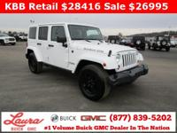 1-Owner New Vehicle Trade! Unlimited Rubicon 3.6 V6