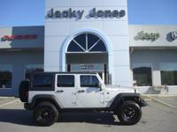 2012 Jeep Wrangler Unlimited Rubicon in Silver, *White