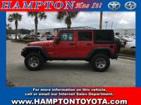 Hampton Toyota is excited to offer this 2012 Jeep