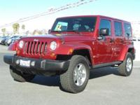 Options:  2012 Jeep Wrangler Unlimited|Red/|V6 3.6L