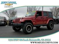RUBICON UNLIMITED, 4X4, HARDTOP, LEATHER INTERIOR,