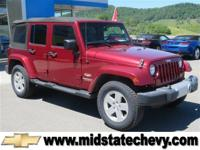 Options:  2012 Jeep Wrangler Unlimited Sahara|Deep