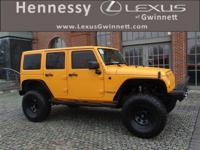 New Price! 2012 Jeep Wrangler Unlimited Sahara Yellow