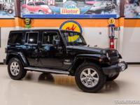 2012 Jeep Wrangler Unlimited Sahara 4X4  Black 2012