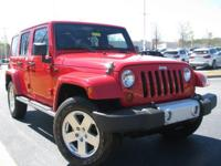 Recent Arrival!Flame Red 2012 Jeep Wrangler Unlimited
