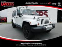 New Price! Bright White Clearcoat 2012 Jeep Wrangler