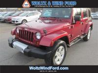4WD 4dr Sahara - LOW MILES - Price does not include