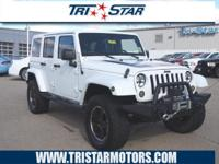 For a smoother ride, opt for this 2012 Jeep Wrangler