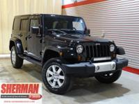 New Arrival! This 2012 Jeep Wrangler Unlimited Sahara