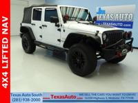 SAHARA-4X4-LIFTED-SOFT TOP-NAV-BLUETOOTH-U