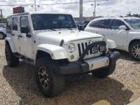 Clean Autocheck and Local Trade. Wrangler Unlimited