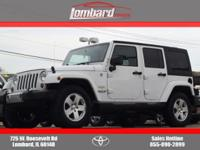 2012 Jeep Wrangler Unlimited Sahara in Bright White