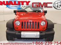 Check out this gently-used 2012 Jeep Wrangler Unlimited