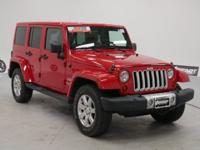 New Price! Certified. Flame Red Clearcoat 2012 Jeep