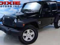 THANK YOU FOR LOOKING AT OUR 2012 JEEP UNLIMITED. ALL