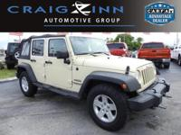 CarFax 1-Owner, This 2012 Jeep Wrangler Unlimited Sport